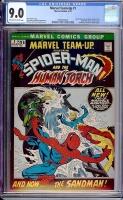 Marvel Team-Up #1 CGC 9.0 ow/w