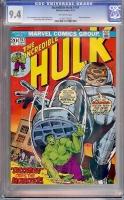Incredible Hulk #167 CGC 9.4 ow