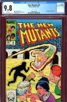New Mutants #9 CGC 9.8 w