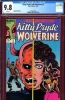 Kitty Pryde and Wolverine #2 CGC 9.8 w
