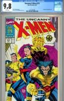 Uncanny X-Men #275 CGC 9.8 w