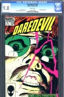 Daredevil #228 CGC 9.8 w