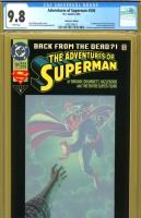 Adventures of Superman #500 CGC 9.8 w
