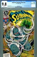 Superman: The Man of Steel #18 CGC 9.8 w
