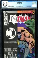 Batman #497 CGC 9.8 w