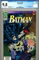 Batman #496 CGC 9.8 w