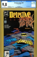 Detective Comics #605 CGC 9.8 w