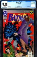 Batman #492 CGC 9.8 w