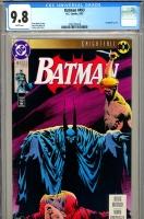 Batman #493 CGC 9.8 w