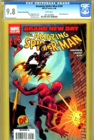 Amazing Spider-Man #549 CGC 9.8 w Dynamic Forces Edition