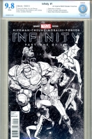 Infinity #1 CBCS 9.8 w Retailer Incentive Edition