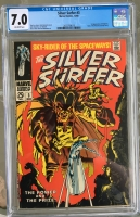 Silver Surfer #3 CGC 7.0 ow