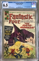 Fantastic Four #21 CGC 6.5 ow/w