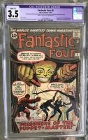 Fantastic Four #8 CGC 3.5 ow/w