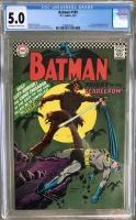 Batman #189 CGC 5.0 ow/w