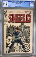 Nick Fury, Agent of SHIELD #4 CGC 9.2 w