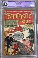 Fantastic Four #6 CGC 5.0 cr/ow