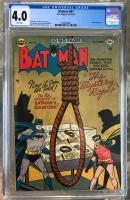 Batman #67 CGC 4.0 w