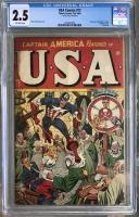 USA Comics #17 CGC 2.5 ow