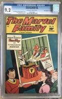 "Marvel Family #30 CGC 9.2 ow/w Davis Crippen (""D"" Copy)"