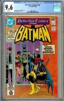 Detective Comics #497 CGC 9.6 w