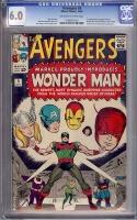 Avengers #9 CGC 6.0 ow/w