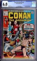 Conan The Barbarian #2 CGC 6.0 ow/w