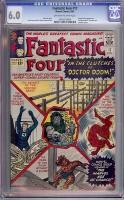 Fantastic Four #17 CGC 6.0 ow/w