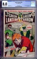 Green Lantern #85 CGC 8.0 ow/w