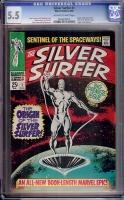 Silver Surfer #1 CGC 5.5 ow/w