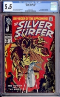 Silver Surfer #3 CGC 5.5 ow/w