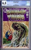 Swamp Thing #1 CGC 6.5 w