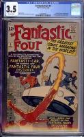 Fantastic Four #3 CGC 3.5 ow