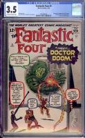 Fantastic Four #5 CGC 3.5 ow/w