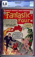 Fantastic Four #6 CGC 5.0 w