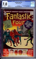 Fantastic Four #11 CGC 7.0 w