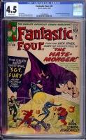 Fantastic Four #21 CGC 4.5 ow