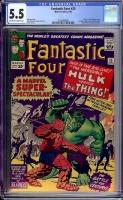 Fantastic Four #25 CGC 5.5 ow/w
