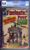 Fantastic Four #26 CGC 4.0 cr/ow