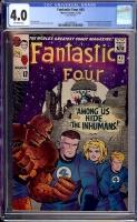 Fantastic Four #45 CGC 4.0 ow