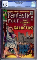 Fantastic Four #48 CGC 7.0 w