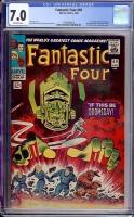 Fantastic Four #49 CGC 7.0 ow