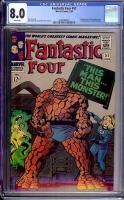 Fantastic Four #51 CGC 8.0 w