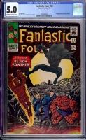 Fantastic Four #52 CGC 5.0 ow/w