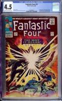 Fantastic Four #53 CGC 4.5 cr/ow