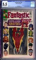 Fantastic Four #54 CGC 5.5 ow/w