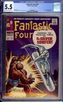 Fantastic Four #55 CGC 5.5 w