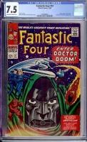 Fantastic Four #57 CGC 7.5 ow/w