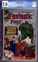 Fantastic Four #58 CGC 7.0 ow/w