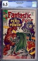 Fantastic Four #60 CGC 6.5 ow/w